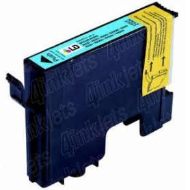 16ML Compatible Epson Stylus Photo R800/R1800-Cian claro