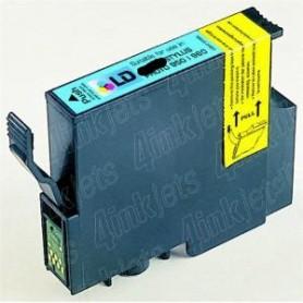 12ML Com Epson P50 1400 PX650 700 710 800 -Cian photo T0795