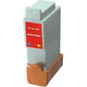Compatible  BJC 2000/2010/i250/i350-Negro BCI-21C/BCI-24C
